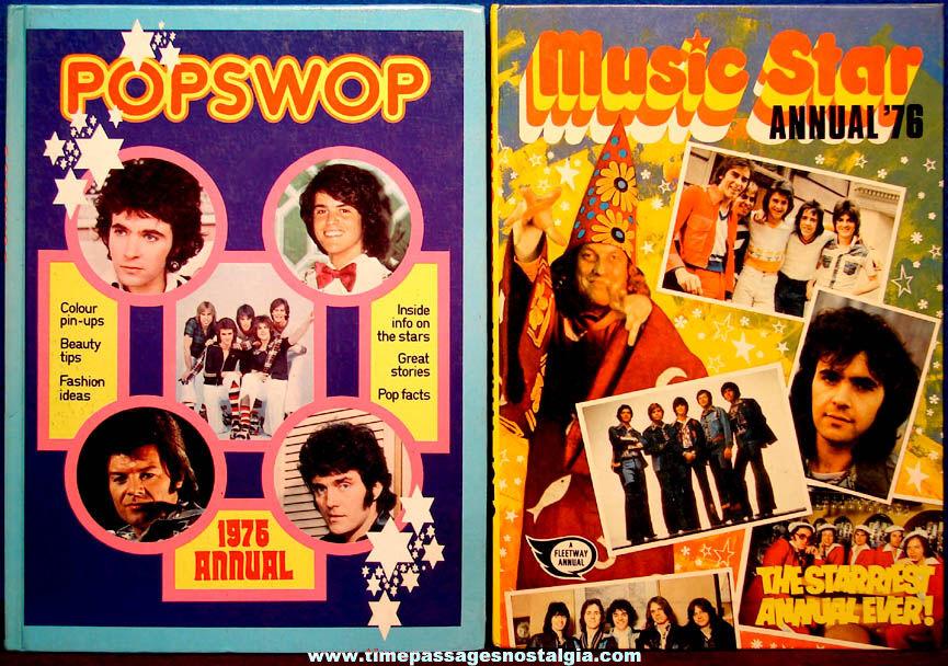 (2) Different ©1975 Popswop & Music Star 1976 Annual Music Books