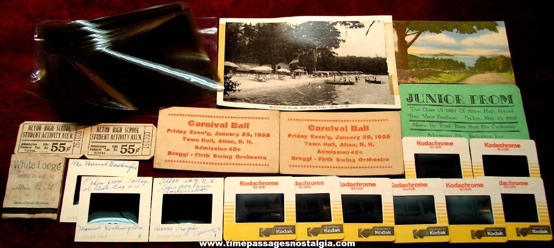 (28) Small Old Alton Bay New Hampshire Advertising & Souvenir Items