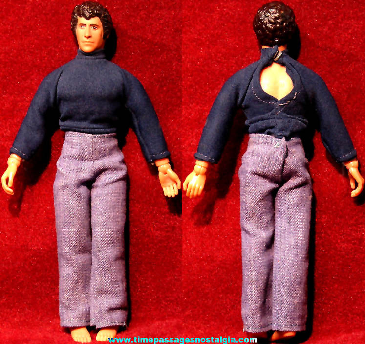 ©1974 Mego Starsky & Hutch Television Show Character Action Figure Toy Doll with Clothes