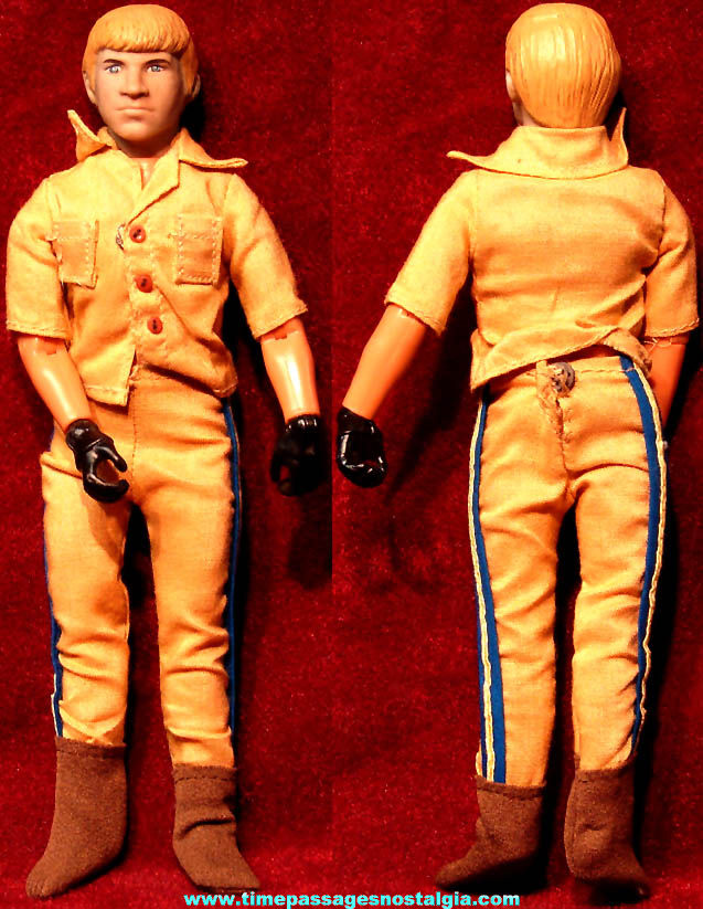 ©1977 Mego C.H.I.P.S. Television Show Character Action Figure Toy Doll with Clothes