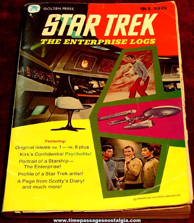 ©1976 Star Trek Enterprise Logs Television Show Golden Press Comic Book