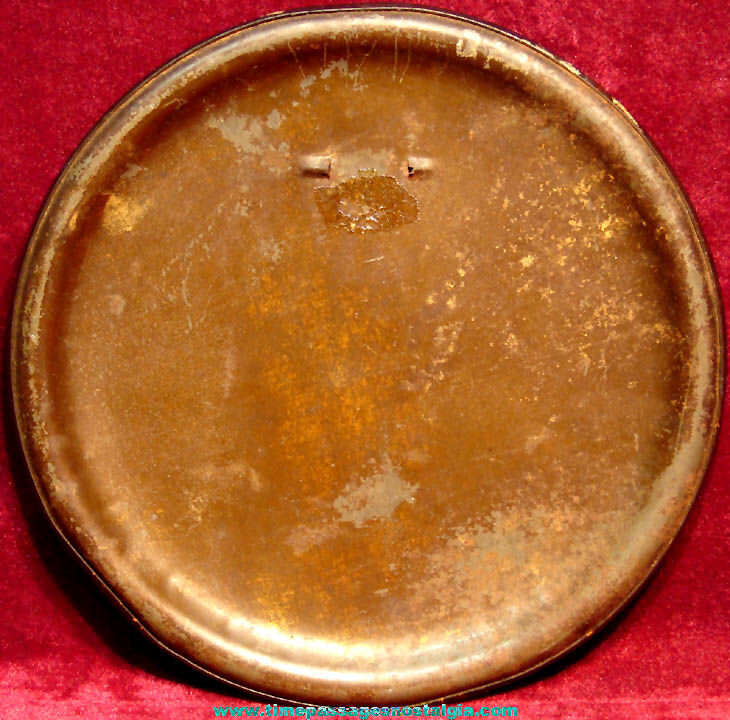 Large Colorful Old Family Portrait Photograph Celluloid Pin Back Button