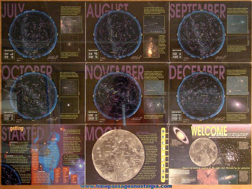Two Sided (18) Panel ©1999 Sky & Telescope Magazine Night Sky Guide