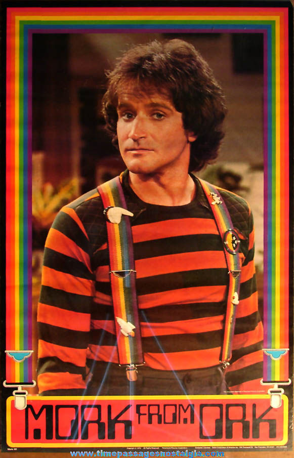 Unused ©1979 Mork From Ork Television Show Character Advertising Movie Poster