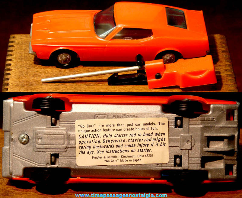 1971 Mach I Ford Mustang Proctor & Gamble Mr. Clean Premium Toy Car