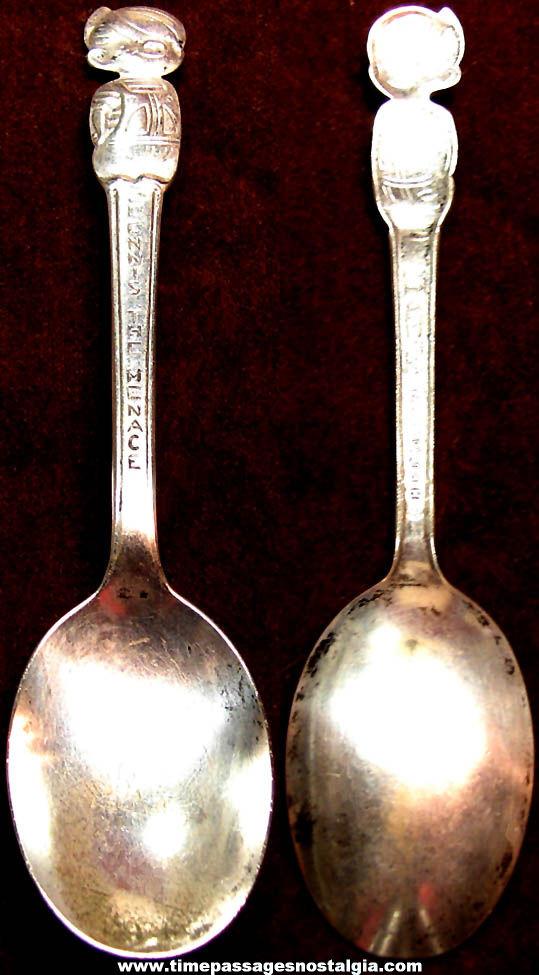 1961 Dennis The Menace Character Cereal Premium Tea Spoon