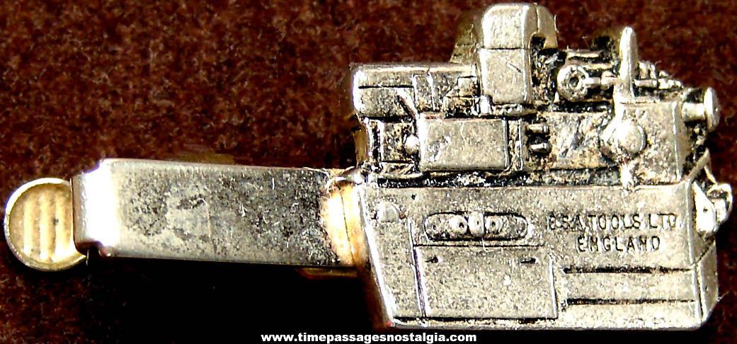 Old BSA Tools Ltd Employee or Advertising Premium Neck Tie Jewelry Bar Clip