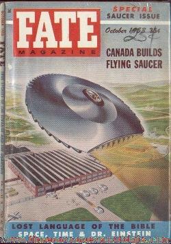 (3) 1953 FATE Magazines