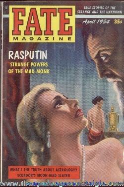 (4) 1954 FATE Magazines #46-#49