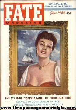 (4) 1954 FATE Magazines #50-#53