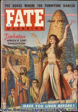 (3) 1955 FATE Magazines #58, #60 and #61