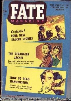 (4) 1955 FATE Magazines #62-#65