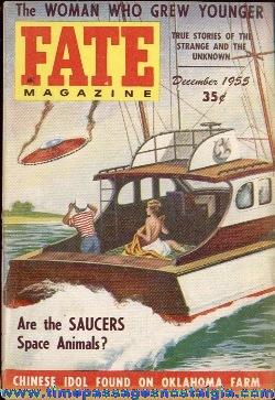 (4) 1955 FATE Magazines #66-#69