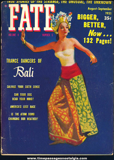 FATE Magazine - August-September 1951