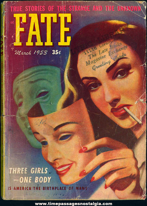 FATE Magazine - March 1953