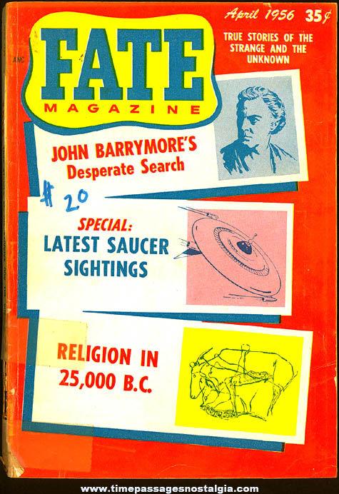 FATE Magazine - April 1956
