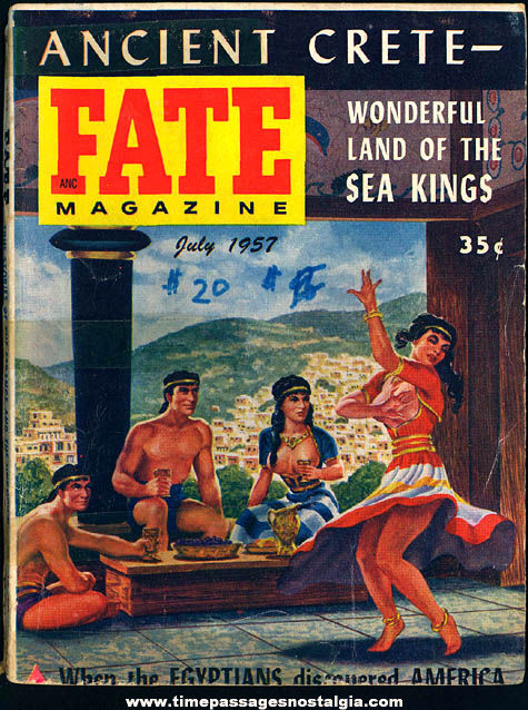 FATE Magazine - July 1957