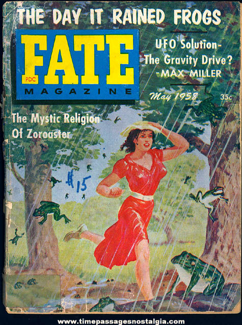 FATE Magazine - May 1958