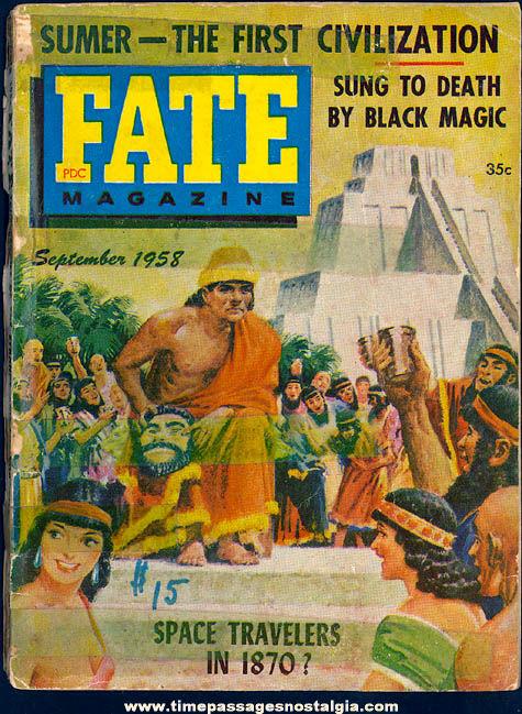 FATE Magazine - September 1958