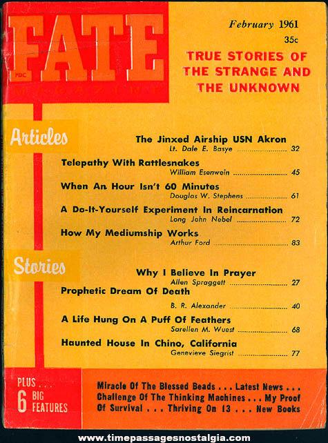 FATE Magazine - February 1961