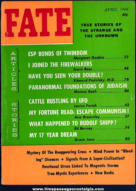 FATE Magazine - April 1966