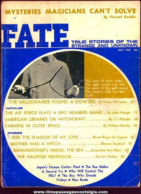 FATE Magazine - July 1967