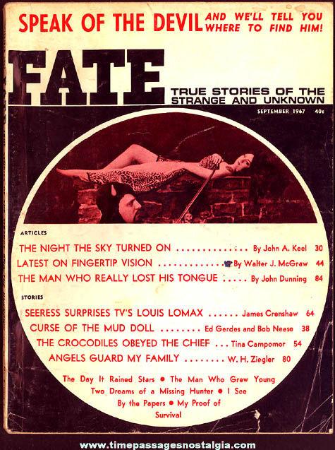 FATE Magazine - September 1967