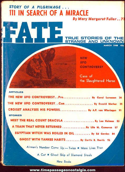 FATE Magazine - March 1968