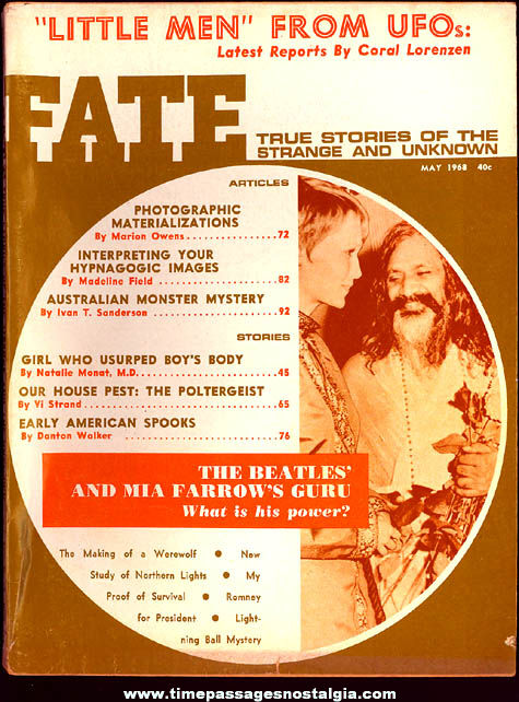 FATE Magazine - May 1968