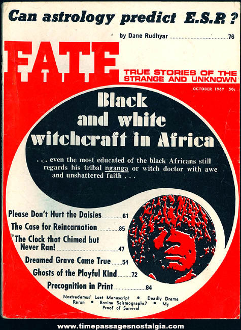 FATE Magazine - October 1969