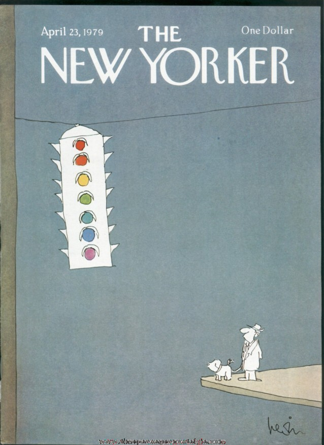 New Yorker Magazine - April 23, 1979 - Cover by Arnie Levin