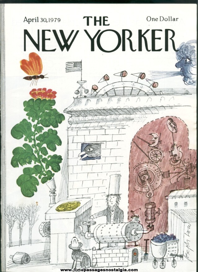 New Yorker Magazine - April 30, 1979 - Cover by Joseph Low