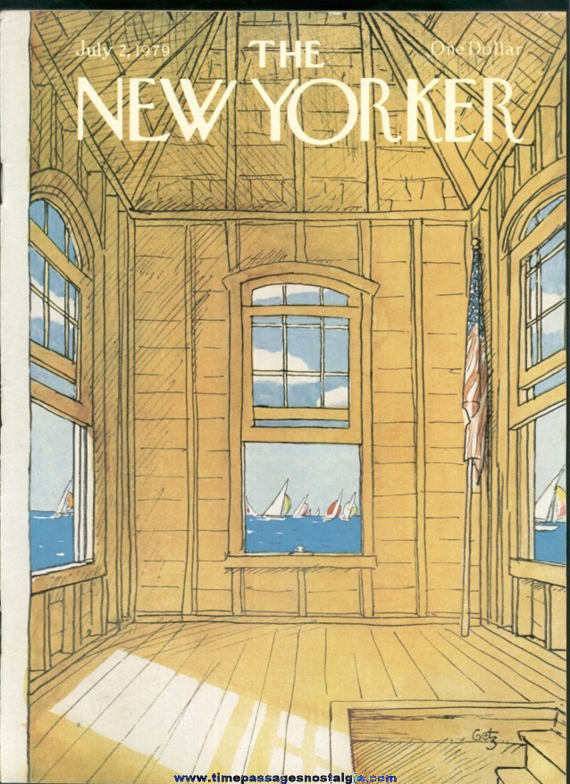 New Yorker Magazine - July 2, 1979 - Cover by Arthur Getz