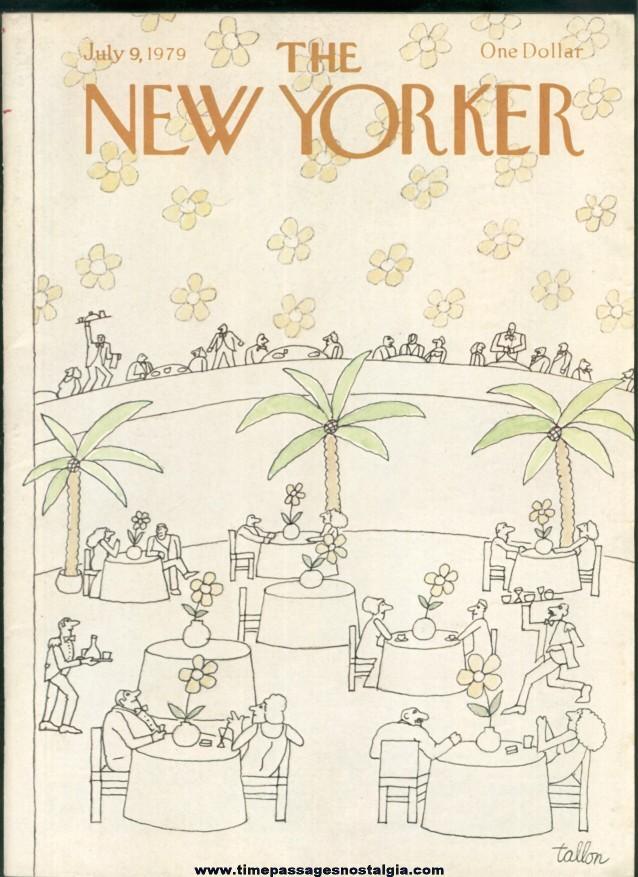 New Yorker Magazine - July 9, 1979 - Cover by Robert Tallon