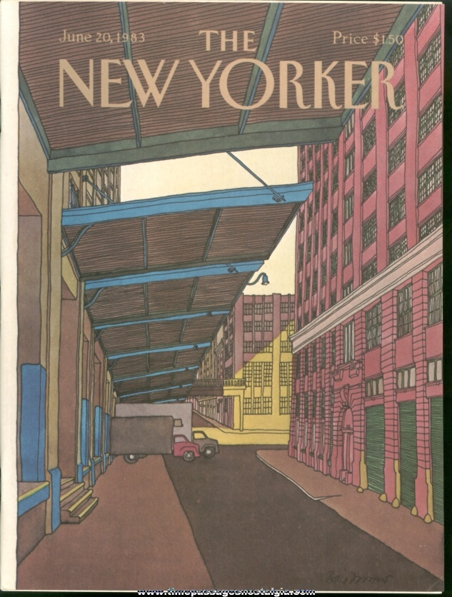 New Yorker Magazine - June 20, 1983 - Cover by Roxie Munro