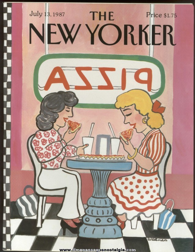 New Yorker Magazine - July 13, 1987 - Cover by Barbara Westman