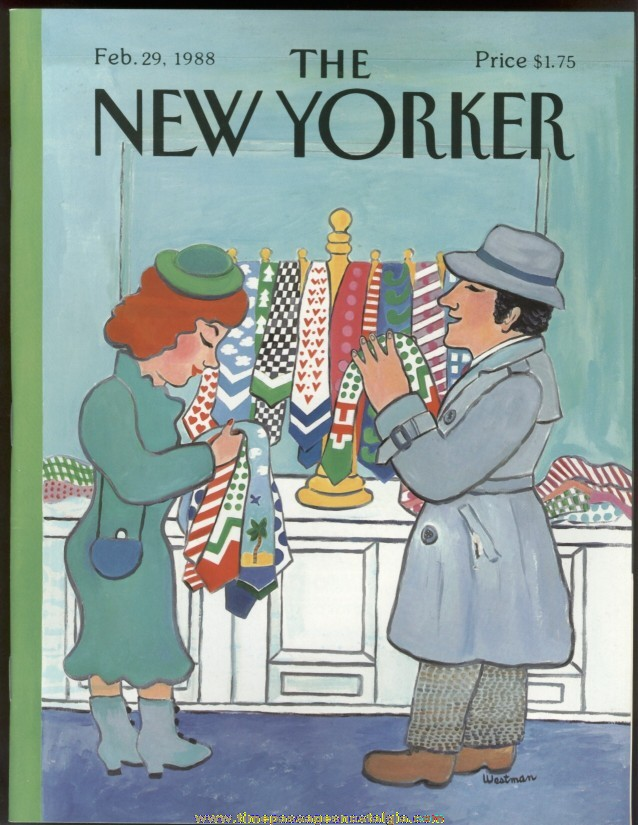 New Yorker Magazine - February 29, 1988 - Cover by Barbara Westman