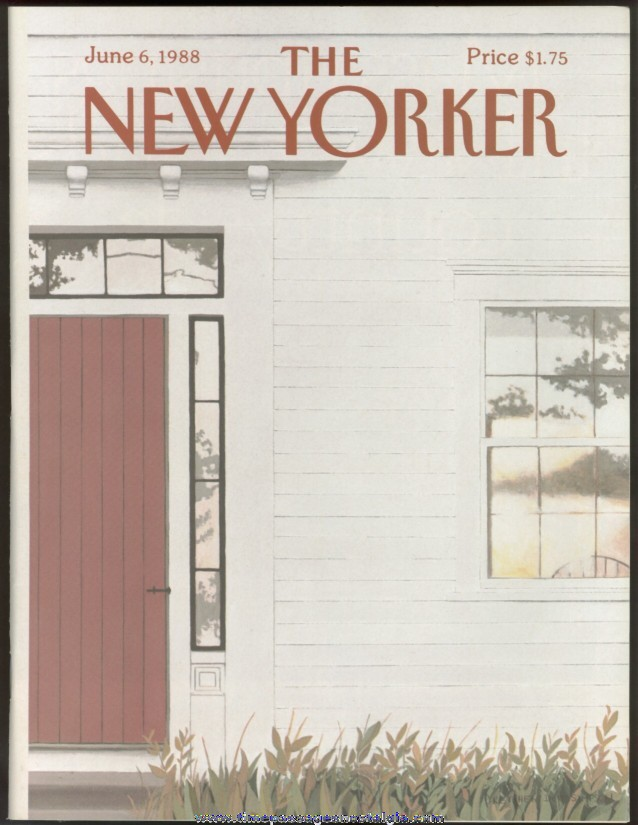 New Yorker Magazine - June 6, 1988 - Cover by Gretchen Dow Simpson