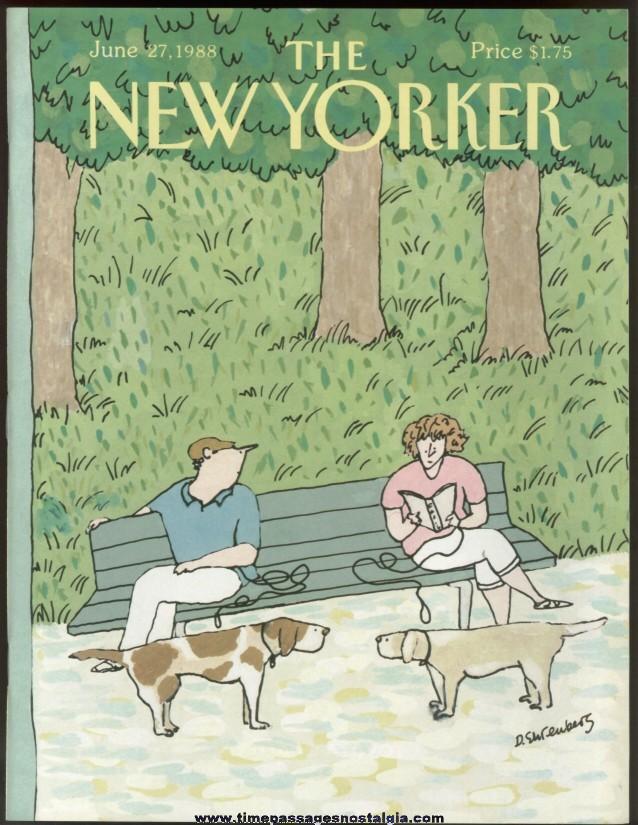 New Yorker Magazine - June 27, 1988 - Cover by Devera Ehrenberg