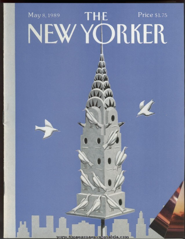 New Yorker Magazine - May 8, 1989 - Cover by Kathy Osborn Young