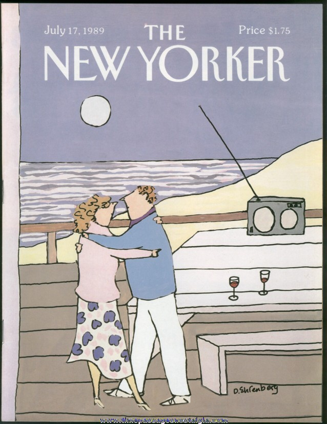 New Yorker Magazine - July 17, 1989 - Cover by Devera Ehrenberg