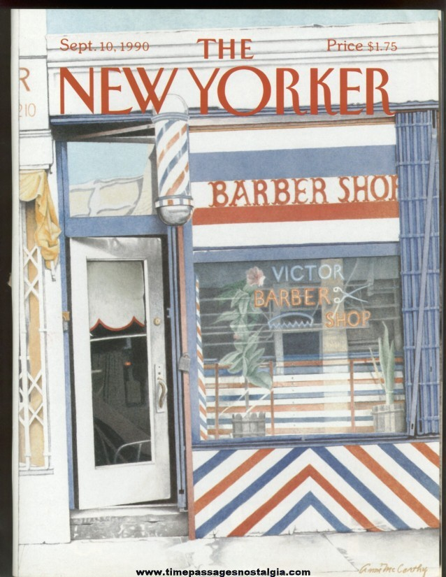 New Yorker Magazine - September 10, 1990 - Cover by Ann McCarthy
