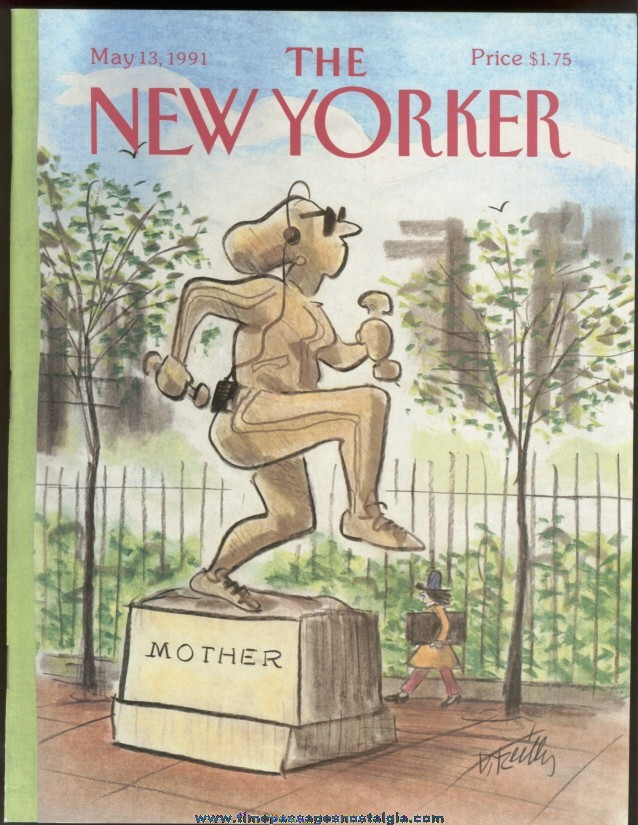 New Yorker Magazine - May 13, 1991 - Cover by Donald Reilly