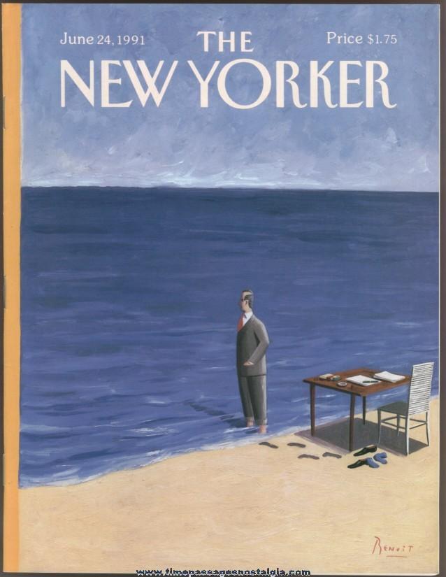 New Yorker Magazine - June 24, 1991 - Cover by Benoit van Innes
