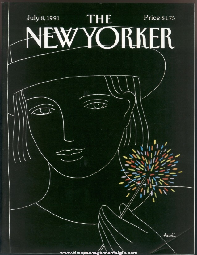 New Yorker Magazine - July 8, 1991 - Cover by Heidi Goennel