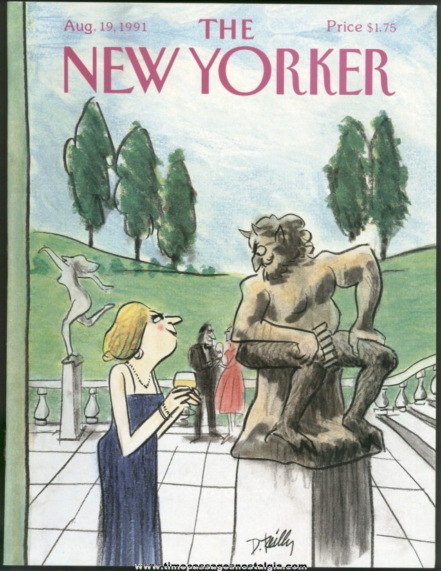 New Yorker Magazine - August 19, 1991 - Cover by Donald Reilly