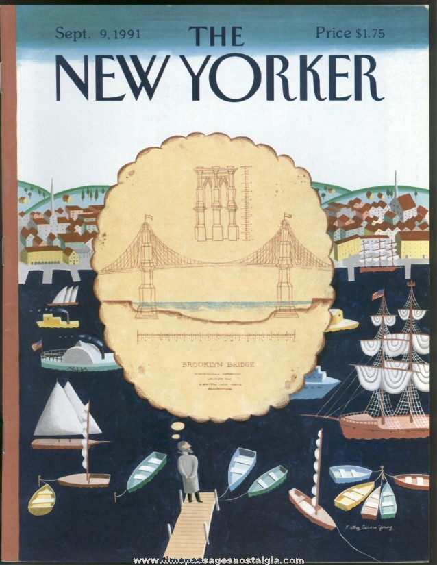 New Yorker Magazine - September 9, 1991 - Cover by Kathy Osborn Young