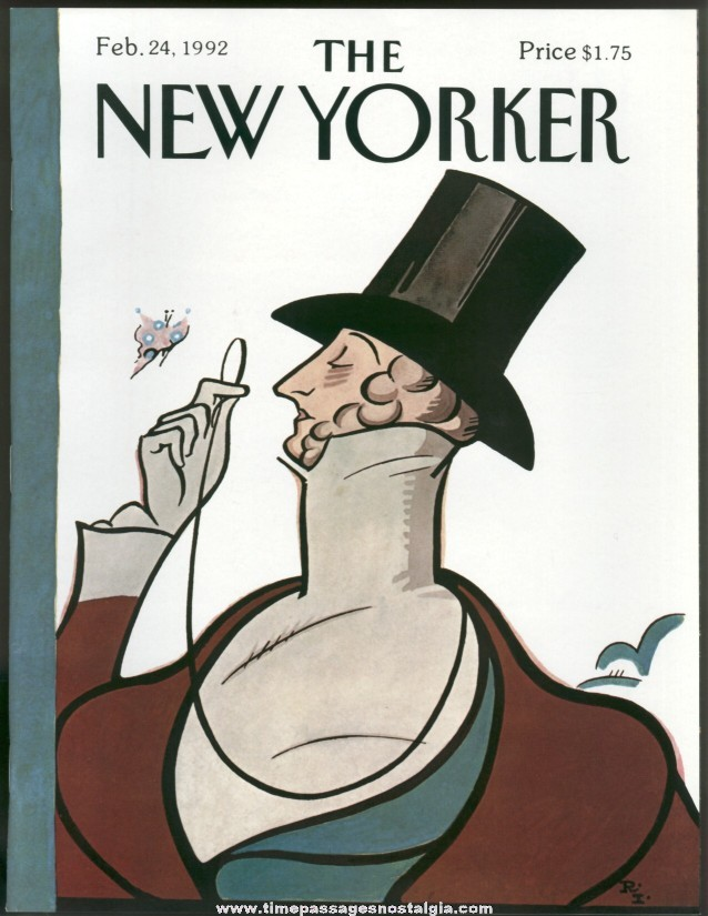 New Yorker Magazine - February 24, 1992 - Cover by Rea Irvin