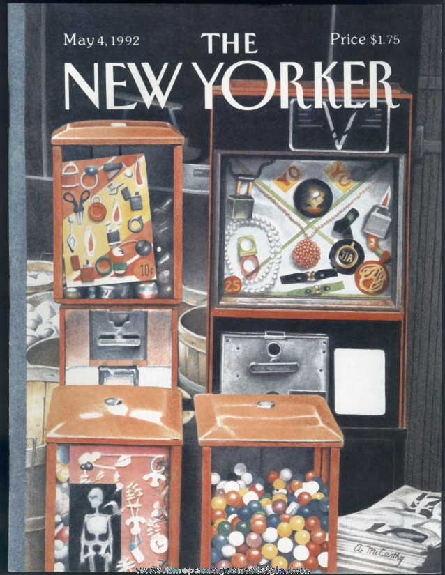 New Yorker Magazine - May 4, 1992 - Cover by Ann McCarthy