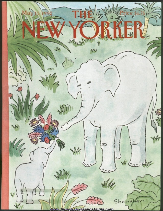 New Yorker Magazine - May 11, 1992 - Cover by Danny Shanahan